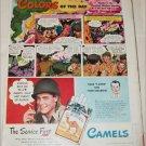 1945 Camel Cigarette ad
