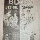 1919 Bixby's Jet-Oil 7 Shu Wite ad
