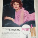 1958 Du Berry The Missing Pink Lipstick ad
