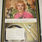 1944 1847 Rogers Brothers Silverware ad featuring Rise Stevens