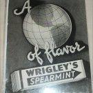 Wrigley's Spearmint Gum ad #1
