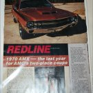 1970 American Motors AMX 5 page Article