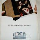 1966 Polaroid Land Automatic 103 Camera Halloween ad