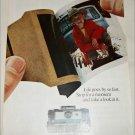 1967 Polaroid Land Automatic 210 Camera Boy ad