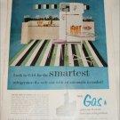 Gas ad featuring Servel Refrigerator