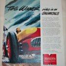 1952 Monsanto Chemical Company Racecar ad
