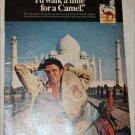 1969 Camel Cigarette Taj Mahal ad