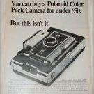 1968 Polaroid Land Automatic 250 Camera ad