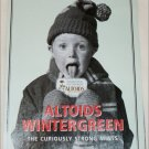 1998 Altoids Wintergreen Candy ad