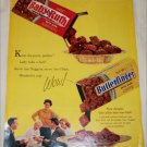 Curtiss Baby Ruth Nuggets & Butterfinger Chips ad