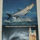 1971 Camel Cigarette Fish ad
