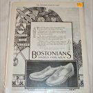 1925 Bostonians Shoes ad