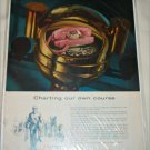 General Telephone & Electronics Charting ad