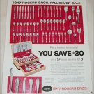 1957 1847 Rogers Brothers Silverware ad