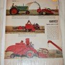 1954 Harvesting Machines article