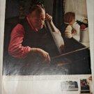 1969 Polaroid Color Pack Camera Violin ad