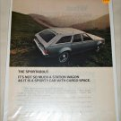 1971 American Motors Sportabout 4 dr stationwagon car ad
