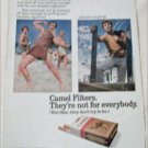 1971 Camel Filters Cigarette Muscle Beach ad