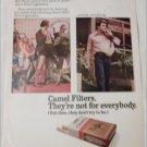 1972 Camel Filters Cigarette Mr Stanley's Hot Pants ad