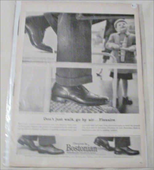 Bostonian Flexaire Shoe ad