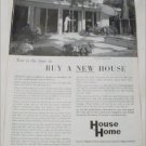 House & Home ad