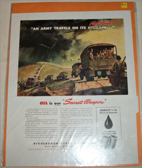 Pittsburgh Steel Company ad