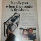 1970 Polaroid Automatic 350 Camera Grandpa ad