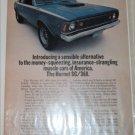 1971 American Motors Hornet SC/360 2 dr sedan car ad