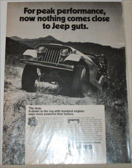 1971 American Motors Jeep ad