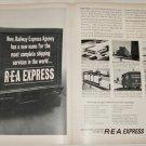 1960 Railway Express Agency ad