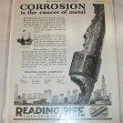 1925 Reading Pipe Company ad