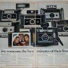 1970 Polaroid Cameras ad