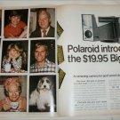 1970 Polaroid Big Shot Camera ad