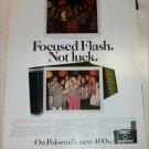 1971 Polaroid 400's Camera ad