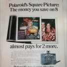 1971 Polaroid Square Shooter Camera Christmas ad