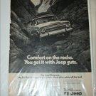 1971 American Motors Jeep Wagoneer ad