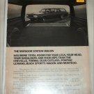 1971 American Motors Matador 4 dr stationwagon car ad