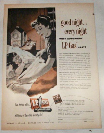 1953 LP Gas ad