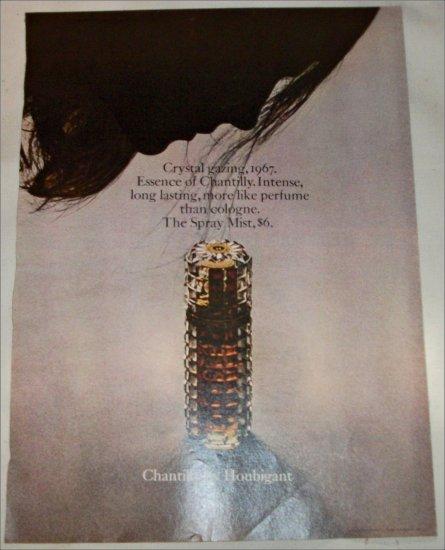 1967 Houbigant Chantilly Perfume ad