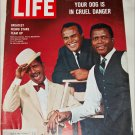 Life Cover featuring Sammy Davis, Harry Belafonte and Sidney Poitier
