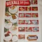 1951 Rexall Drug Stores Christmas ad