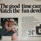 1972 Polaroid Square Shooter 2 Camera Grandfather ad
