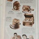 1951 Revere Cine' & Recording Equipment ad