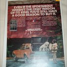 1972 American Motors Hornet Sportabout 4 dr stationwagon car ad