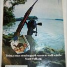 1974 Camel Cigarette Fishing Pole ad