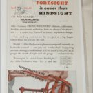 1946 Allis-Chalmers Front Mounted Implements ad