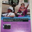 2000 Sony Digital Mavica Camera ad