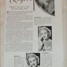 Max Factor Makeup ad featuring Ginger Rogers