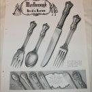 1948 Marlborough Sterling Silver ad