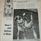 Honor Blackman Judo article